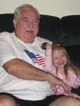 Sofie and Grandpa Don